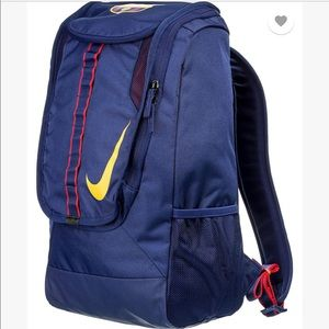 Nike FCB Compact Soccer Backpack Blue